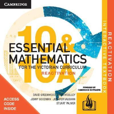 Essential Mathematics for the Victorian Year 10&10A Reactivation Code (DIGITAL)