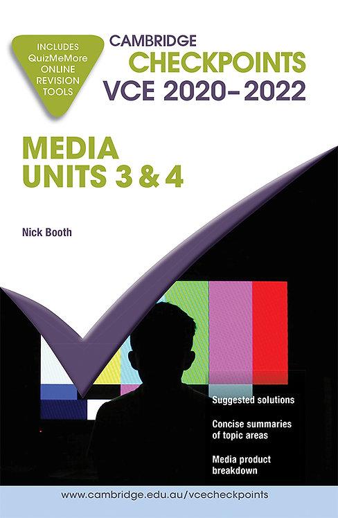 Cambridge Checkpoints VCE Media Units 3&4 2020-22