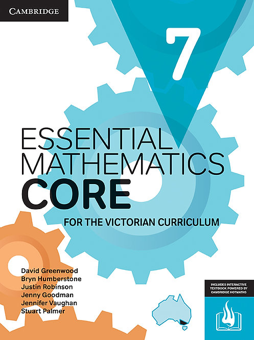 Essential Mathematics CORE for the Victorian Curriculum Year 7 (DIGITAL)