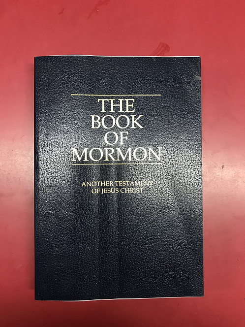 The Book of Mormon - Another Testament of Jesus Christ (SECOND HAND)