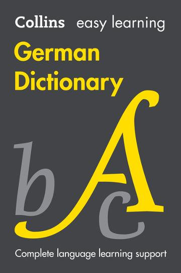 Collins Easy Learning German Dictionary 8E