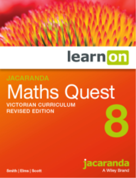 Jacaranda Maths Quest 8 Victorian Curriculum LearnON (DIGITAL)