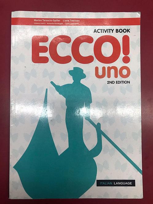 Ecco! uno Activity Book 2E (SECOND HAND)