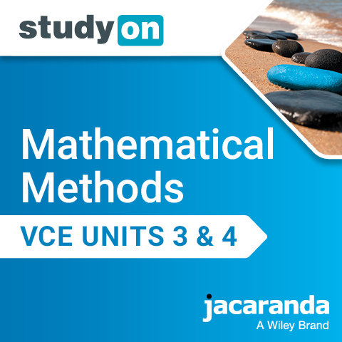Jacaranda Mathematical Methods StudyOn Units 3&4 2E (DIGITAL)