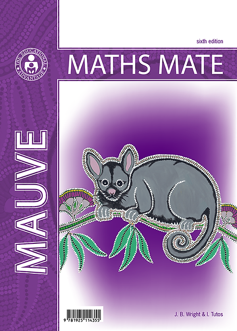 Maths Mate 9 Mauve  Student Pad 6E