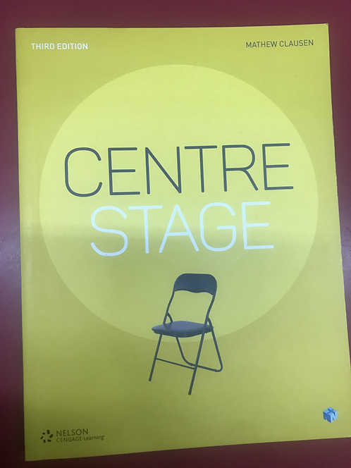 Centre Stage (SECOND HAND)