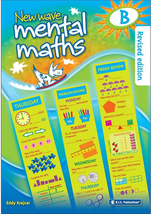 New Wave Mental Maths B 6-7 Years