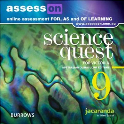 Jacaranda Science Quest 9 for Victoria Australian Curriculum AssessON (DIGITAL)