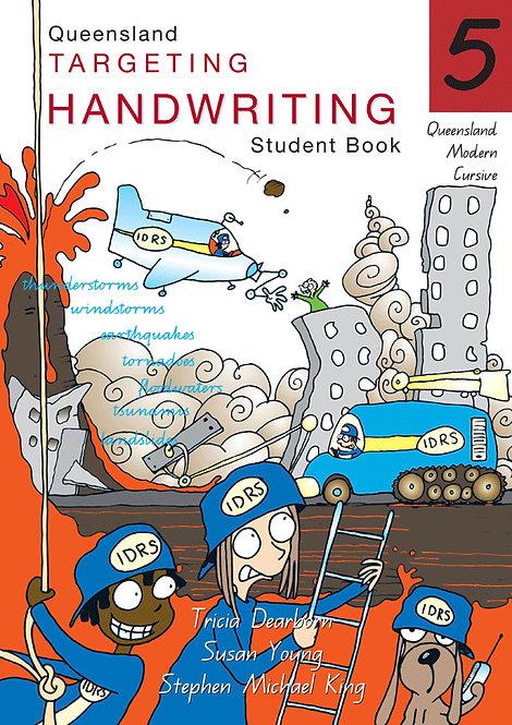 Targeting Handwriting: QLD Year 5 Student Book