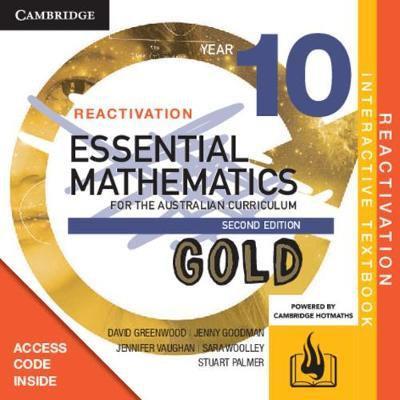Essential Mathematics Gold for the Australian 10 2E Reactivation Code (DIGITAL)