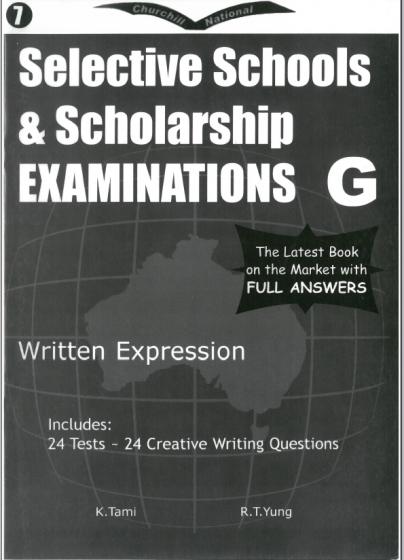 Selective Schools & Scholarship Examinations G