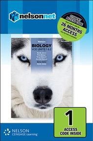 Nelson Biology VCE Units 1&2 3E (DIGITAL)