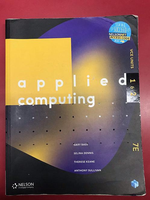 Applied Computing Units 1&2 7E (SECOND HAND)