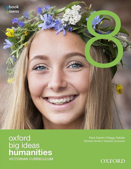 Oxford Big Ideas Humanities 8 Victorian Curriculum (PRINT + DIGITAL)