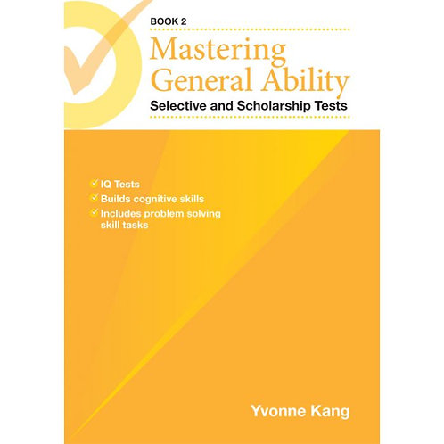 Mastering General Ability Selective and Scholarship Tests Book 2