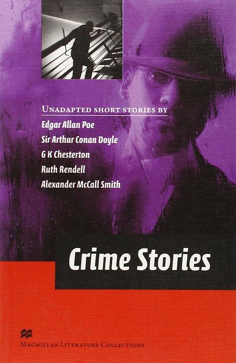 Crime Stories Advanced Graded Reader Macmillan Literature Collection