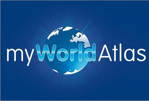 Jacaranda MyWorld Atlas (DIGITAL)
