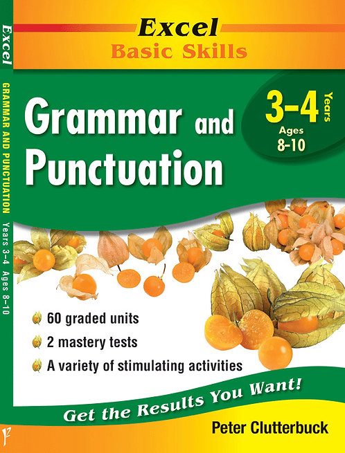 Excel Basic Skills: Grammar and Punctuation Years 3-4