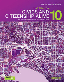 Jacaranda Civics & Citizenship Alive 10 2E LearnON (DIGITAL)
