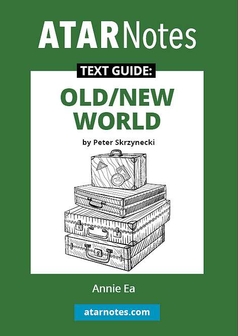 ATARNotes Text Guide: Old/New World