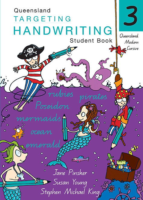 Targeting Handwriting: QLD Year 3 Student Book