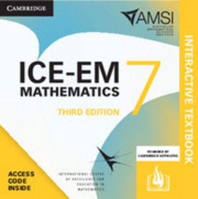 ICE-EM Mathematics Year 7 3E Interactive Textbook (DIGITAL)