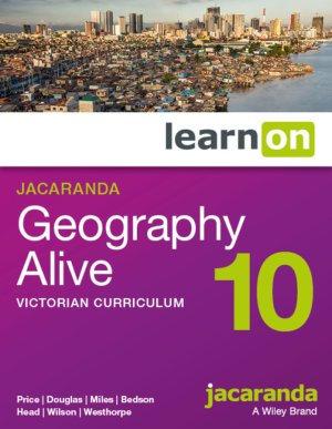 Jacaranda Geography Alive 10 Victorian Curriculum LearnON