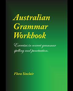 Australian Grammar Workbook