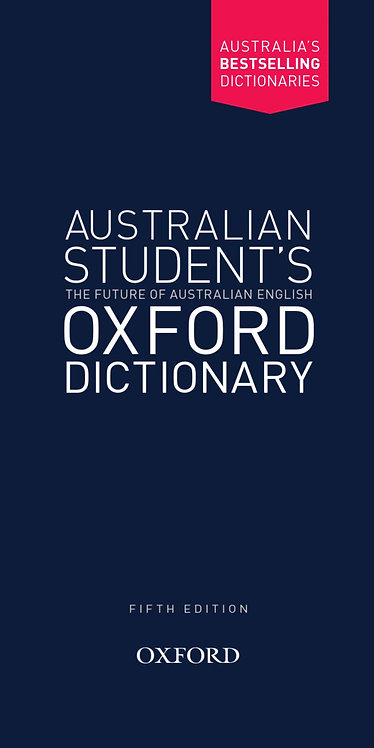 Australian Student's Oxford Dictionary 5E