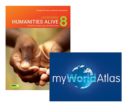 Humanities Alive 8 2E Victorian Curriculum + myWorld Atlas (DIGITAL)