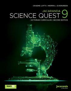 Jacaranda Science Quest 9 2E Victorian Curriculum + AssessON (PRINT + DIGITAL)