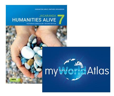 Humanities Alive 7 2E Victorian Curriculum + myWorld Atlas (DIGITAL)
