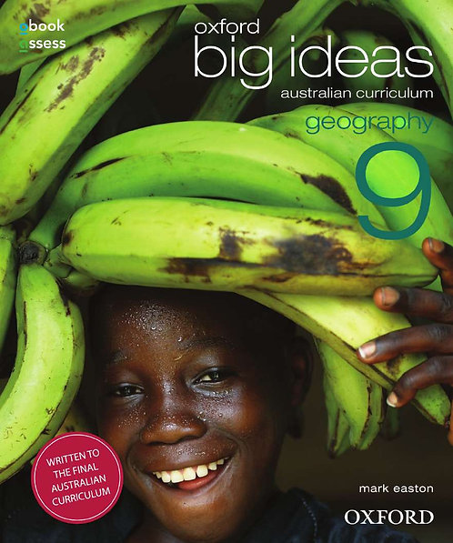 Oxford Big Ideas Geography 9 AC Student Book + obook assess (PRINT + DIGITAL)