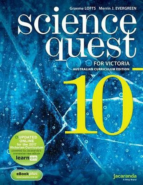Science Quest 10 for Victoria Australian Curriculum Edition & LearnOn