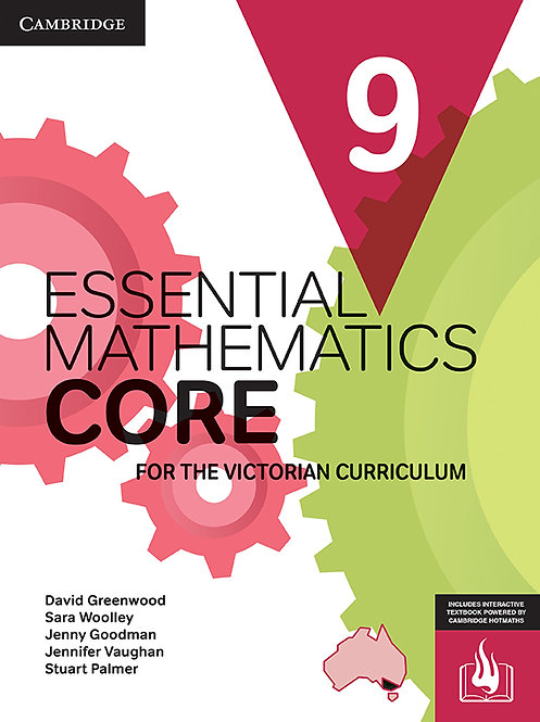 Essential Mathematics CORE for the Victorian Curriculum Year 9 (PRINT + DIGITAL)