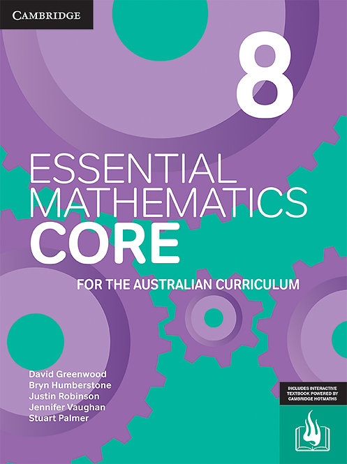 Essential Mathematics CORE for the Australian Curriculum Year 8(PRINT +DIGITAL)