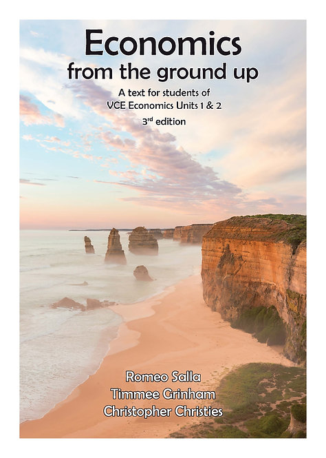 Economics from the ground up Units 1&2 3E