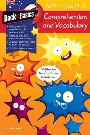Comprehension and Vocabulary Year 5