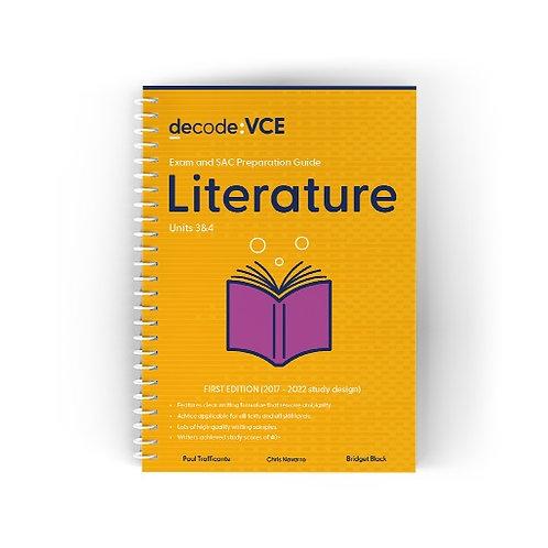 Decode: VCE Literature Units 3&4