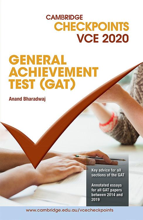 Cambridge Checkpoints VCE GAT 2020