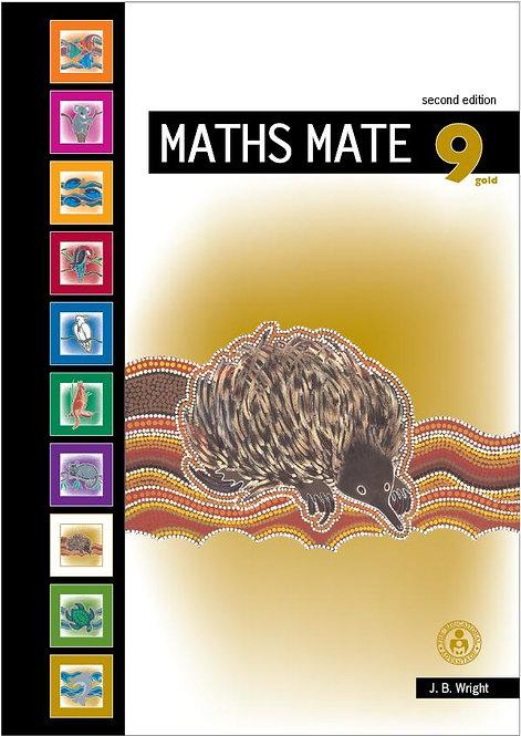 Maths Mate 9 Gold Student Pad 2E