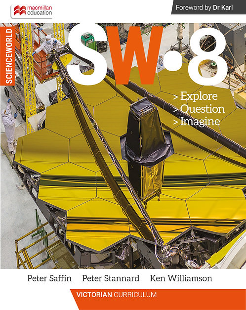 Macmillan Scienceworld 8 Victorian Curriculum Student Book + Workbook Pack