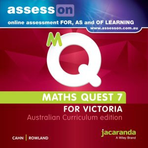Jacaranda Maths Quest 7 for Victoria Australian Curriculum AssessON (DIGITAL)