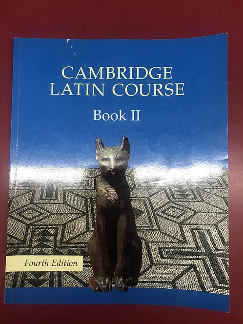 Cambridge Latin Course Book 2 StudentBook 4E (SECOND HAND)