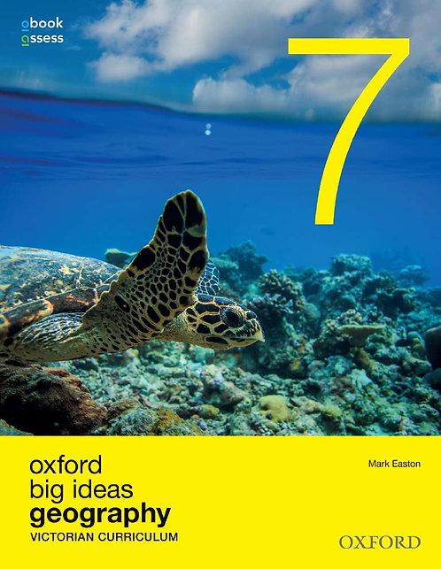 Oxford Big Ideas Geography 7 Victorian Curriculum (PRINT + DIGITAL)