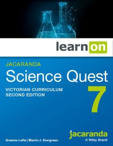 Jacaranda Science Quest 7 2E Victorian Curriculum LearnON (DIGITAL)
