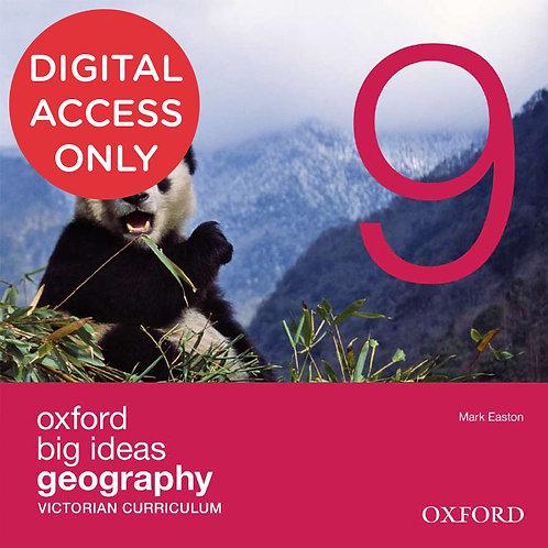 Oxford Big Ideas Geography 9 Victorian Curriculum oBook assess (DIGITAL)
