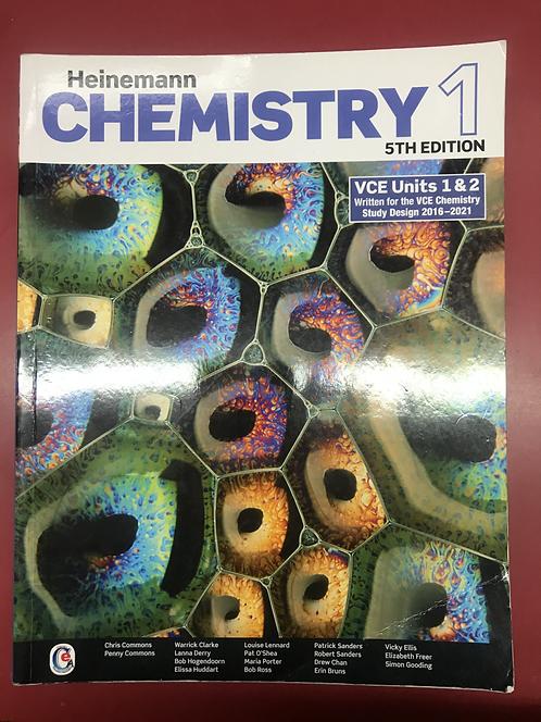 Heinemann Chemistry 1 Student Book 5E (SECOND HAND)