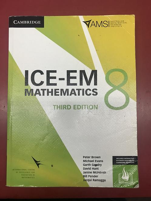 ICE-EM Mathematics 8 3E (SECOND HAND)