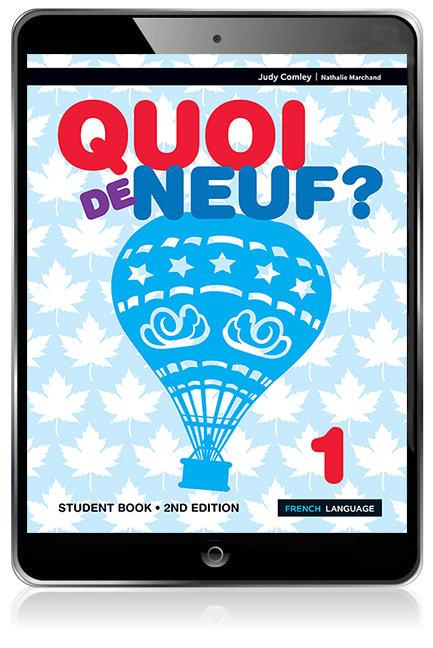 Quoi de neuf ? 1 Student Book 2E (DIGITAL)